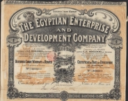 DECO => THE EGYPTIAN ENTREPRISE & DEVELOPMENT COMPANY