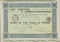 L'ART THEATRAL & CINEMATOGRAPHIQUE