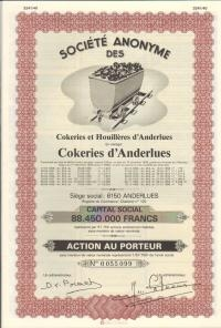 COKERIES d'ANDERLUES