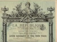 Compagnie d'Assurances LA REPUBLIQUE