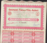 GAUMONT - FRANCO FILM - AUBERT