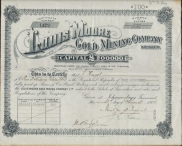 LOUIS MOORE Gold Mining Company