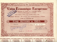 UNION ECONOMIQUE EUROPEENNE