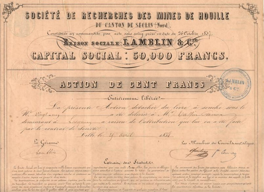 France (1858) - 1 titre disponible - Etat EF (Extremely Fine)